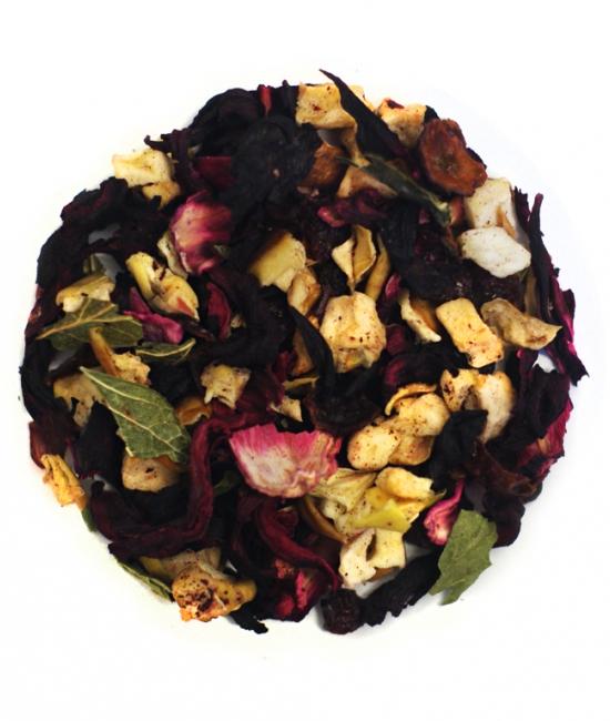 Herbata poziomkowo-waniliowa 50g - herbata owocowa Vivio