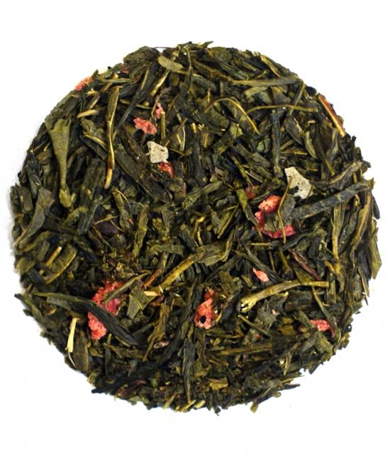 Herbata sencha ananas-truskawka 50g - herbata zielona Vivio