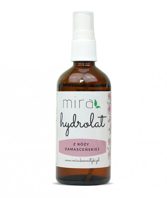 Hydrolat z róży damasceńskiej 100ml mira