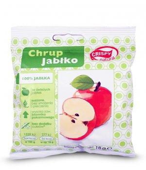 Suszone chipsy z jabłka 18g CRISPY