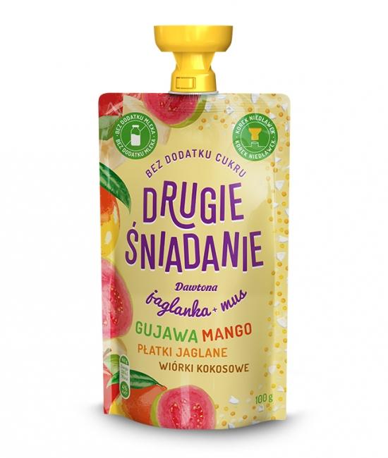Jaglanka z Guawą Mango i Wiórkami 100g Dawtona