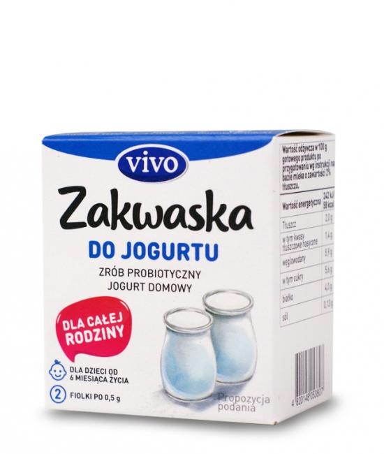 Jogurt priobiotyczny 2 sztuku do przygotowania