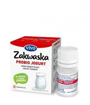 Zakwaska Probio jogurt VIVIO - kartonik 2 sztuki
