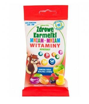 Zdrowe karmelki witaminy i minerały - 40g