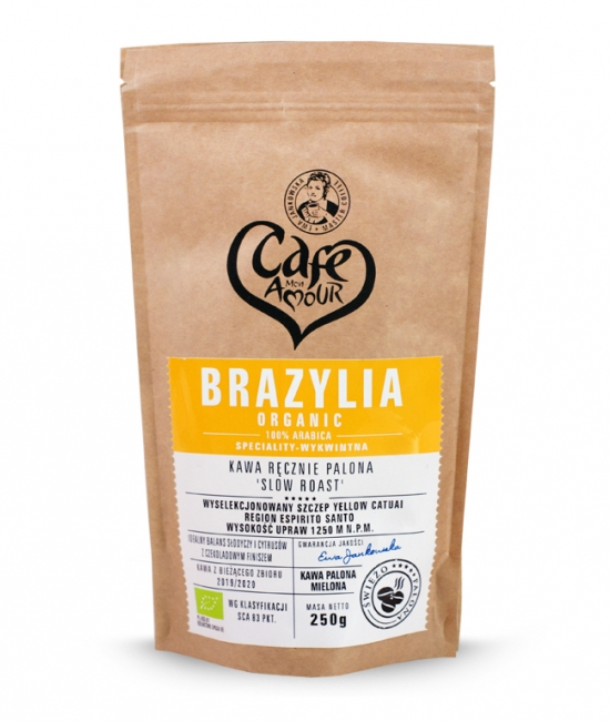 Kawa palona mielona 250g Brazylia