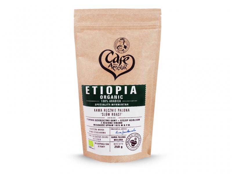 Kawa palona mielona 250g Ethiopia