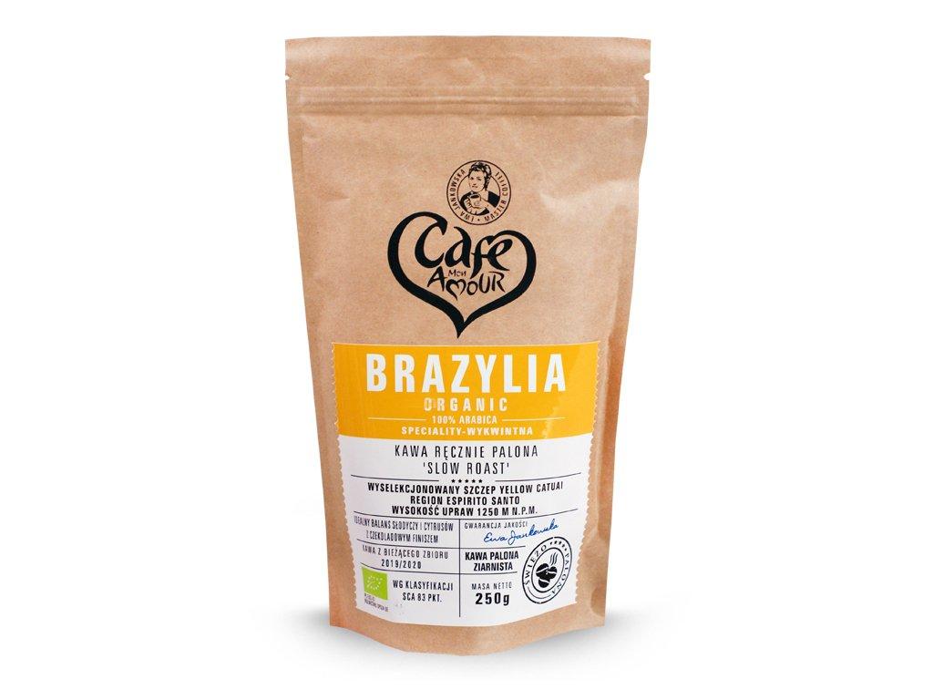 Kawa palona ziarno 250g Brazylia