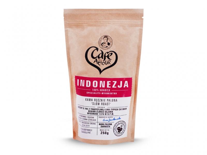 Kawa palona ziarno 250g Indonezja