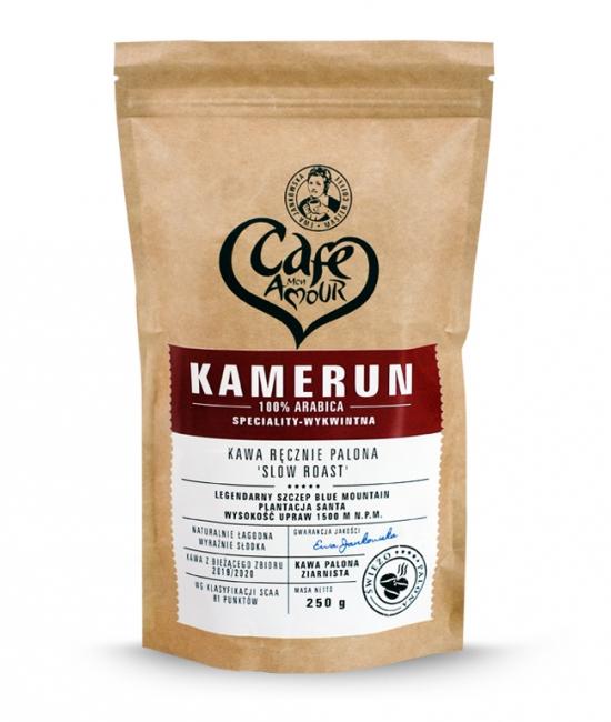 Kawa palona ziarno 250g Kamerun