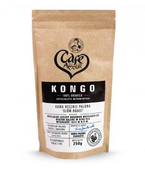 Kawa palona ziarno 250g Kongo