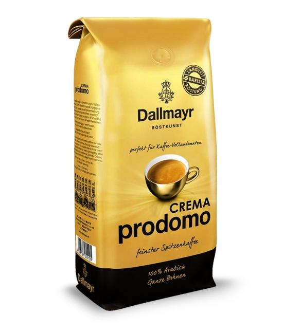 Kawa ziarnista Crema Prodomo 1kg Dallmayr