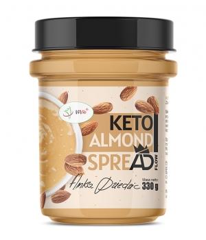 Keto krem migdałowy 330g almond spreAD A. D.