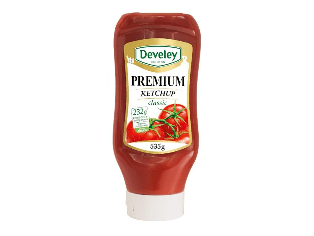 Ketchup premium classic 535g Develey