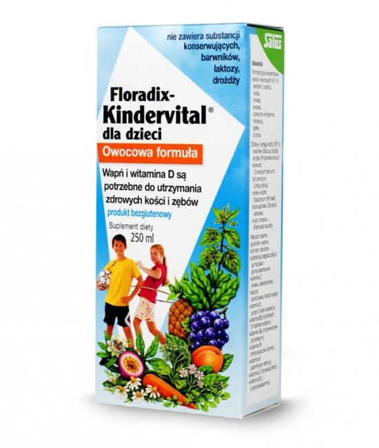 Kinderrvital dla dzieci 250ml Floradix