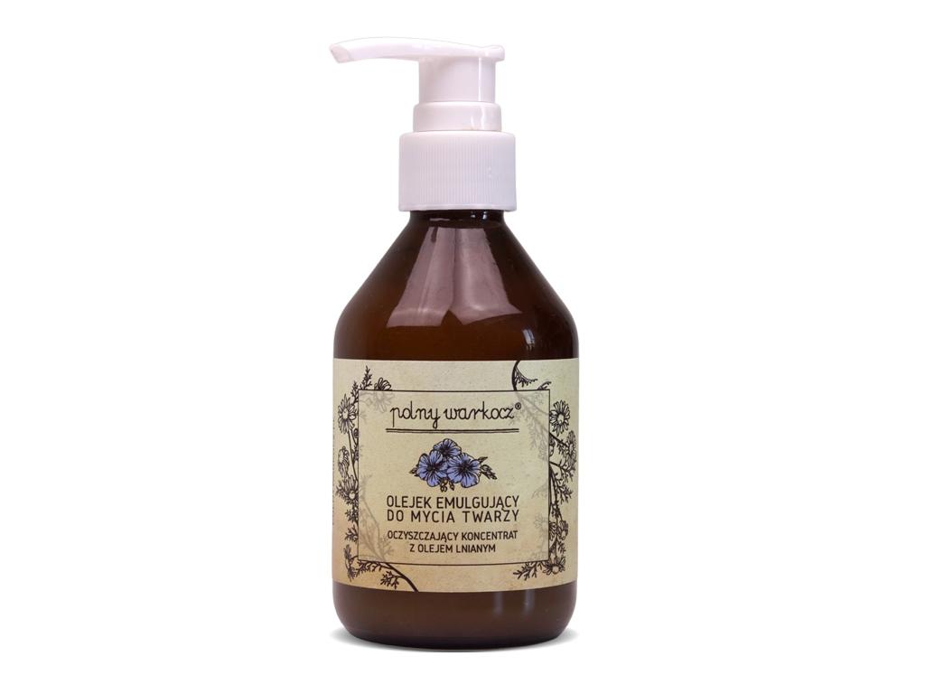 Koncentrat z olejem lnianym 150 ml- Polny Warkocz