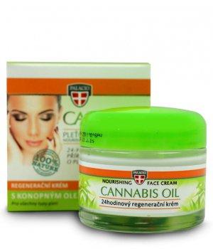 Krem do twarzy z olejem konopnym cannabis 50ml