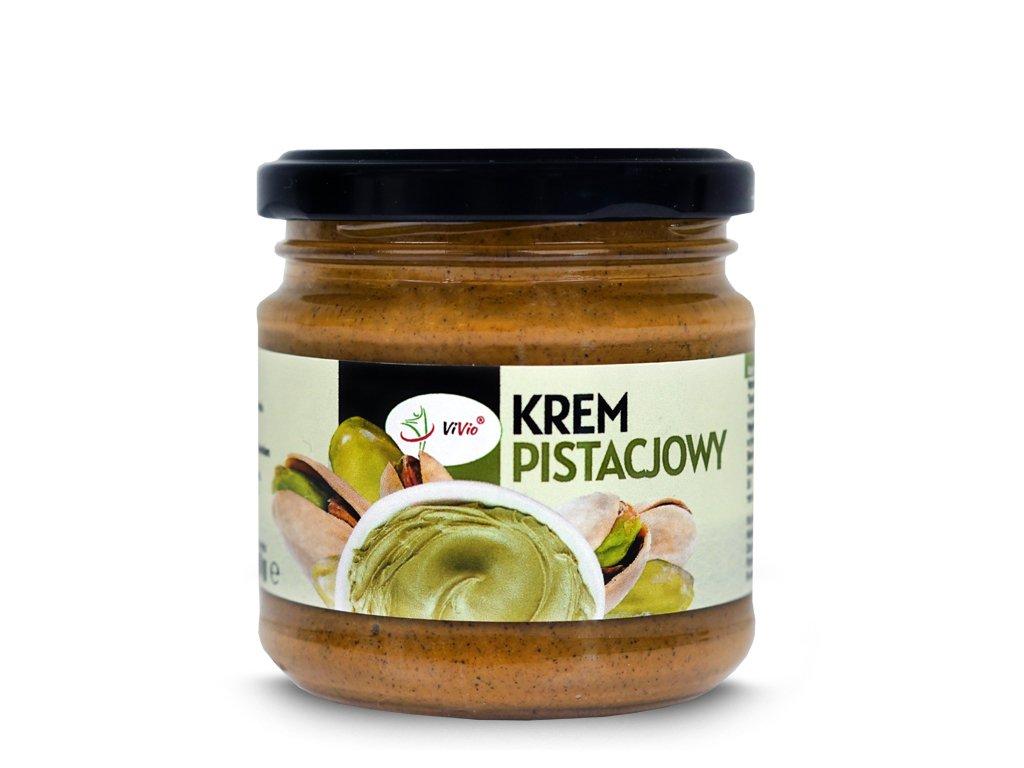 Krem pistacjowy 200g VIVIO, przepis, naturalny, do czego