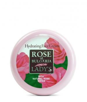 Krem nawilżający Rose of Bulgaria 100ml, właściwosći
