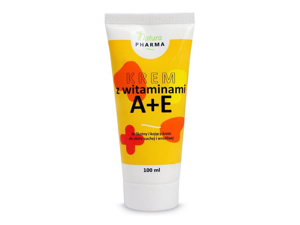 Krem z Witaminami A+E 100ml NaturoPharma