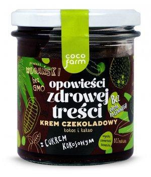 Krem Czekoladowy - kokos i kakao 280g