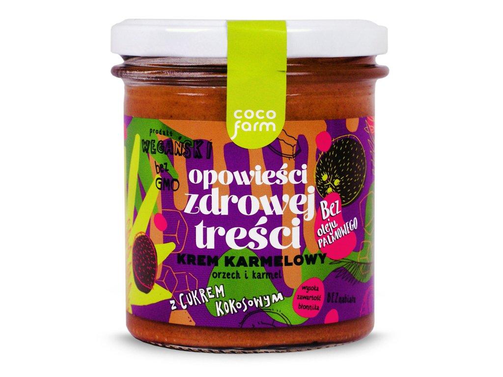 Krem Karmelowy - orzech i karmel 280g