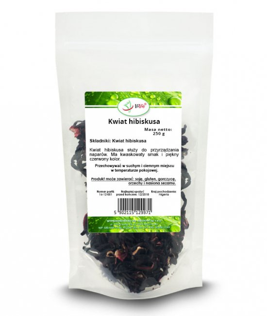 Kwiat hibiskusa, hibiskus herbata, cena właściwości
