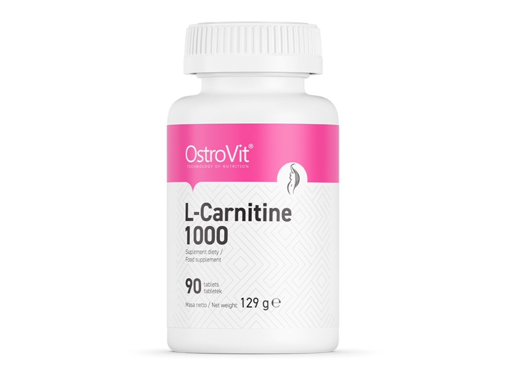 L-Carnitine 1000 90tabs OstroVit