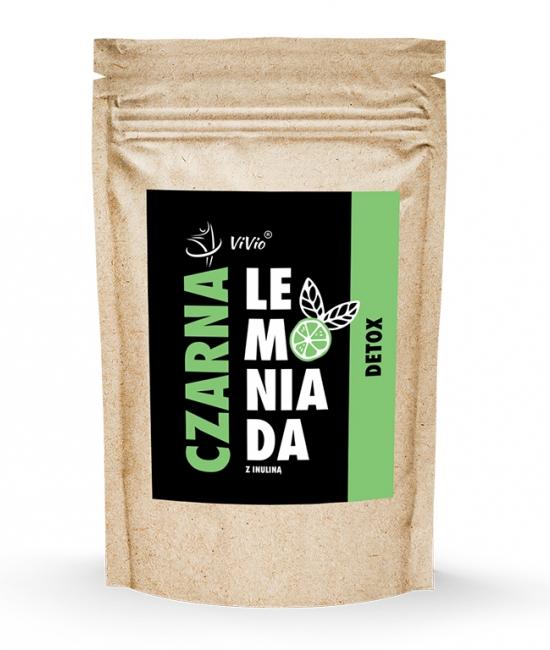 Czarna Lemoniada DETOX z inuliną 100g VIVIO