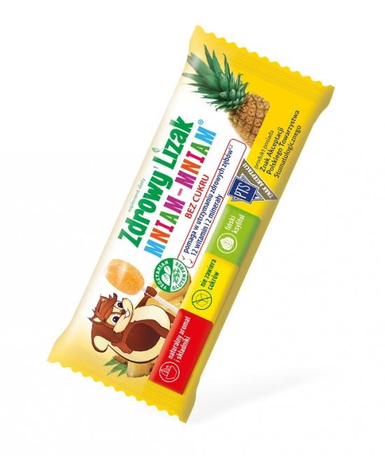 Lizak ananas 6g Zdrowy Lizak