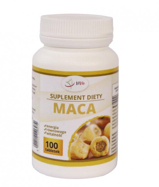 Maca tabletki 500mg 100g (ekstrakt 4:1)