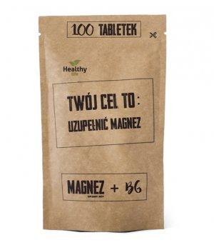 Magnez + B6 - uzupełnij magnez 100 tabletek