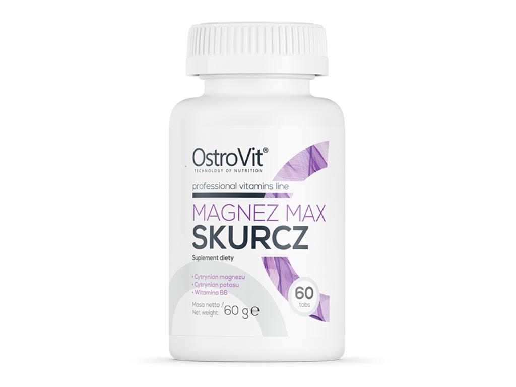 Magnez Max Skurcz 60 tabs OstroVit