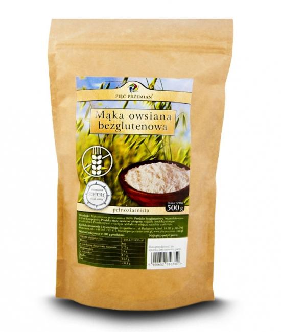 Mąka owsiana bezglutenowa cena, właściwości