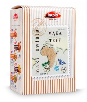 Mąka Teff Incola 400g