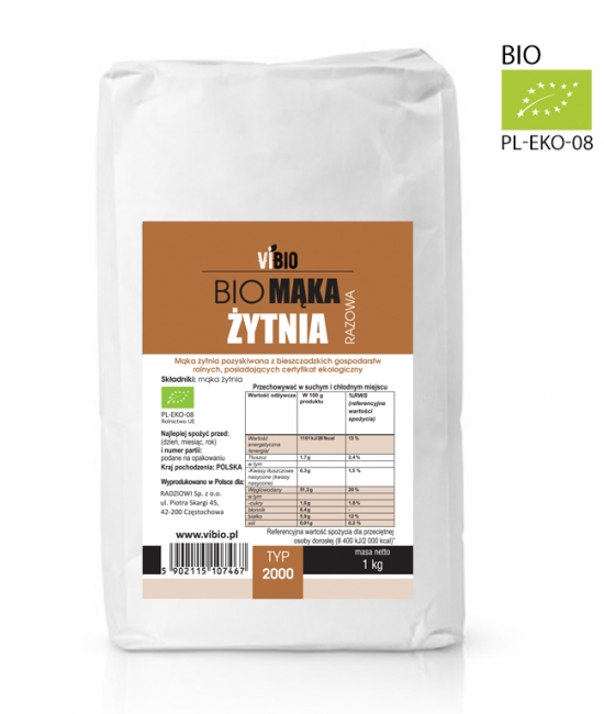 Mąka żytnia razowa cena, ekologiczna zastosowanie