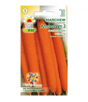 Marchew Amsterdam nasiona 5g TORAF