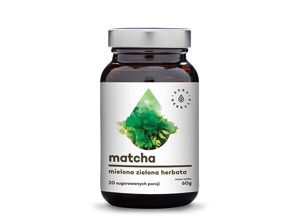 Matcha zielona herbata 60g AURA HERBALS