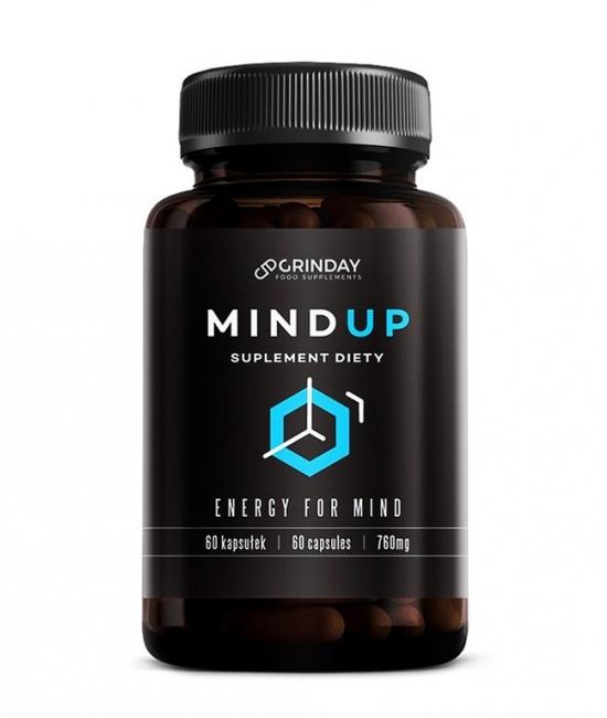 Mind Up - pamięć i koncentracja 60 kapsułek Grinday
