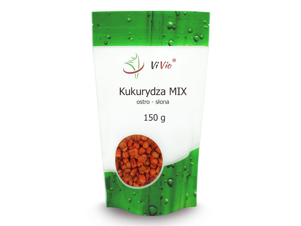 Kukurydza prażona mix ostro-słony 150g