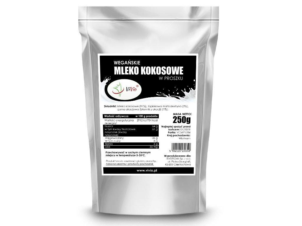 Mleko kokosowe w proszku wegańskie cena, właściwości