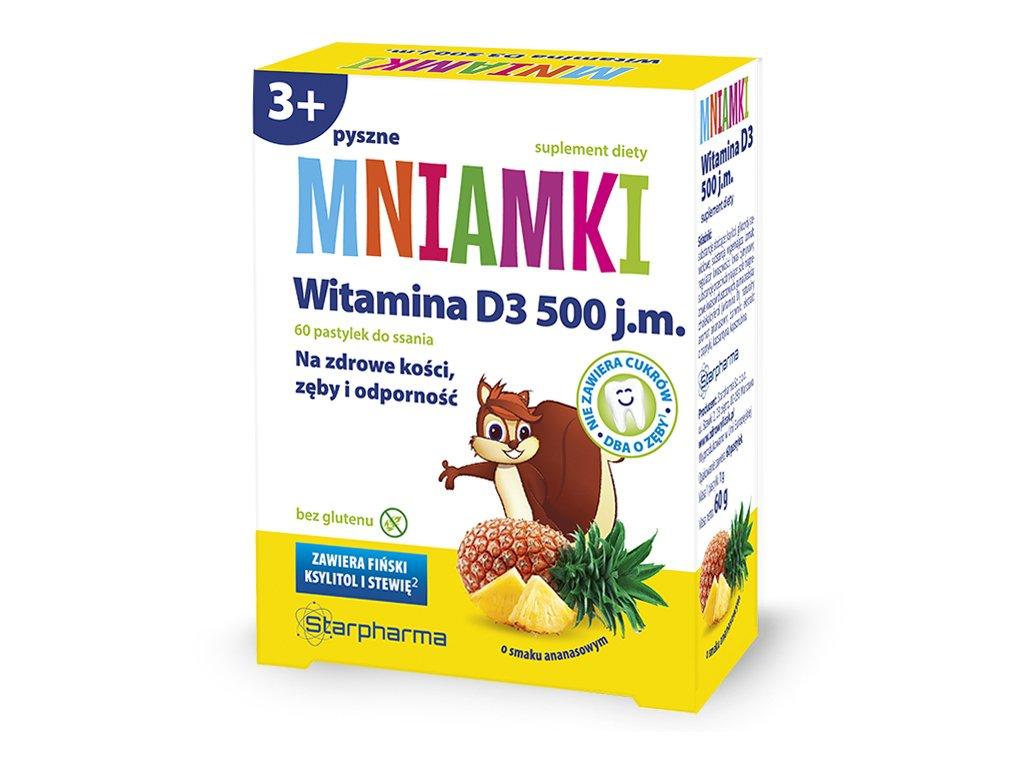 Mniamki witamina D3 Starpharma