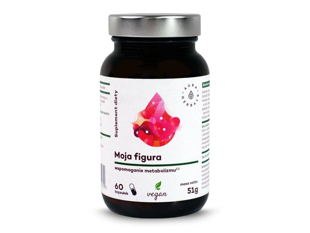 Moja figura wspomaganie metabolizmu 60 kapsułek Aura Herbals