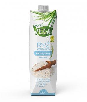Wegański napój ryżowy bez cukru NUTRI VEGE