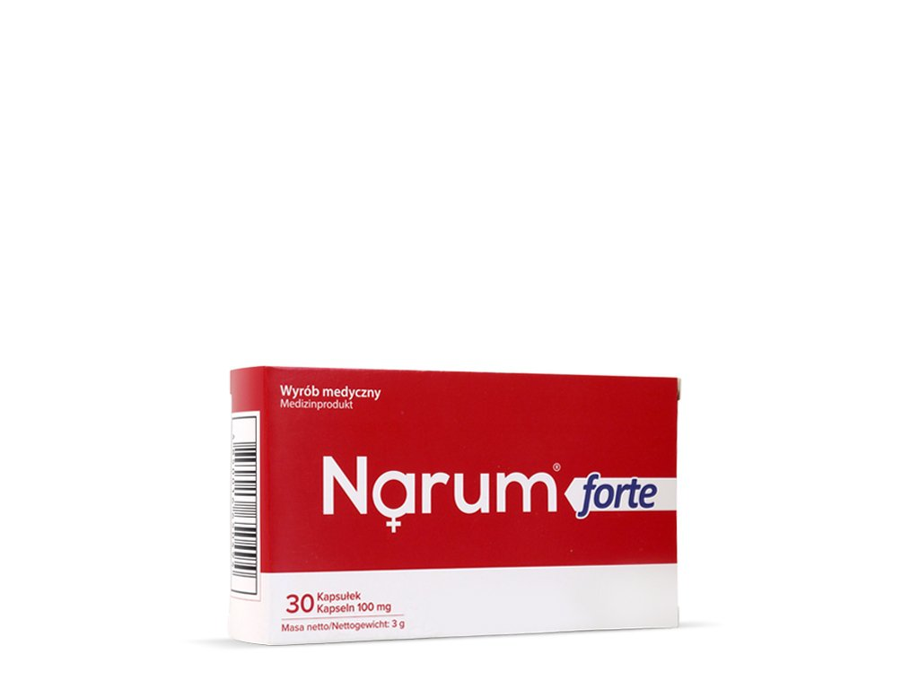 Narimax Narineforte 30 kapsułek Narum