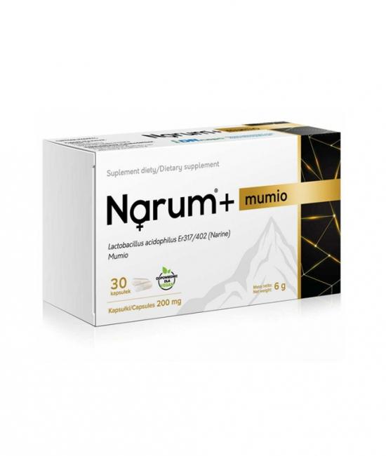 Narum+ Mumio 30 kapsułek 6g Narum