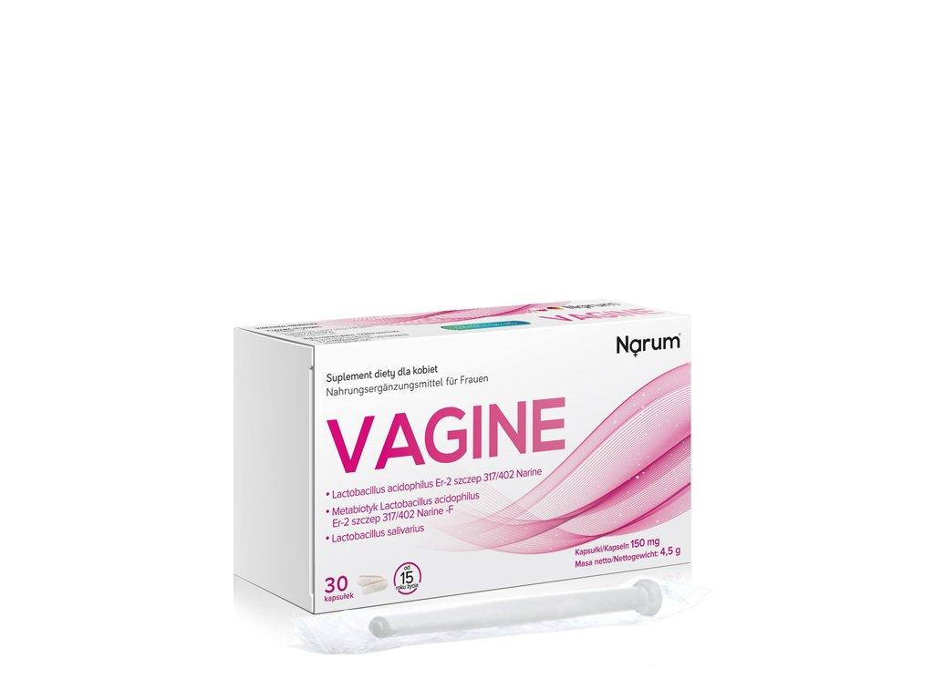 Vagine + aplikator 150mg 30kaps. Narum