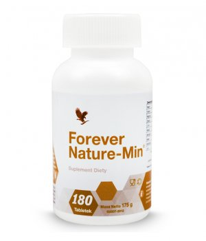 Nature-min minerały 180 tabletek FOREVER