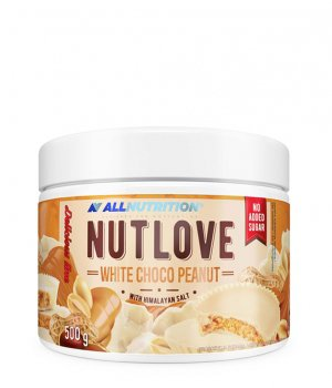 Krem white choco peanut 500g Allnutrition