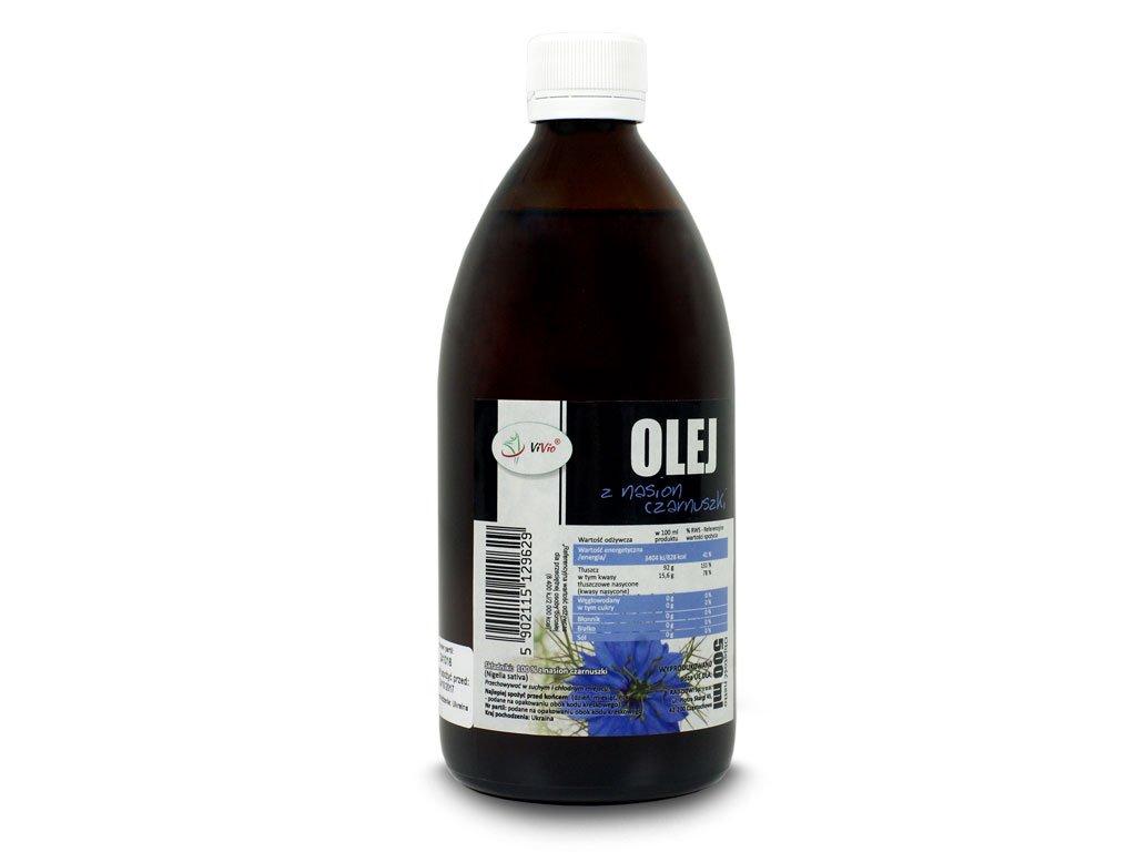 Olej z czarnuszki, olejek z czarnuszki, olej z kminu czarnego