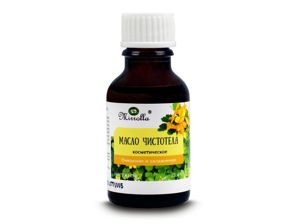 Olej z glistnika jaskółcze ziele 25ml, olejek z glistnika